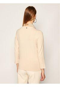 Beżowy sweter klasyczny Liu Jo