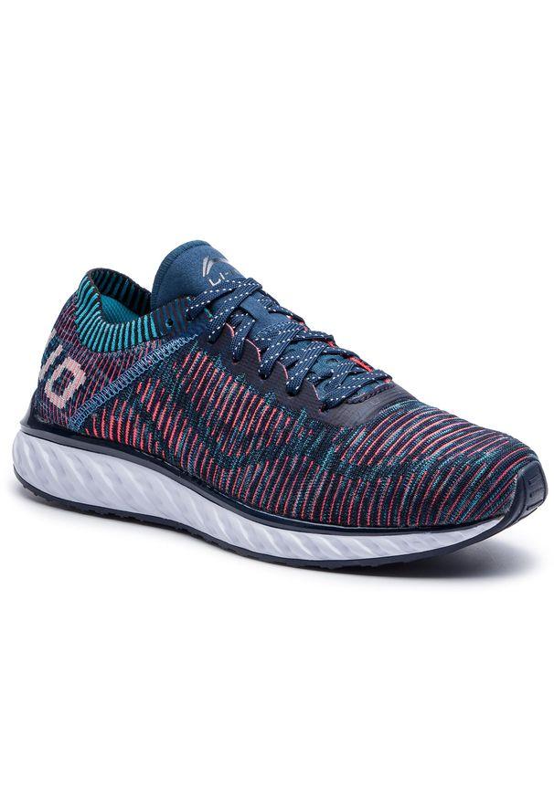 Niebieskie buty do biegania Li-Ning z cholewką
