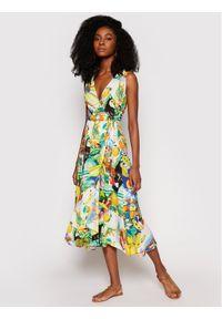 Sukienka letnia Desigual w kolorowe wzory