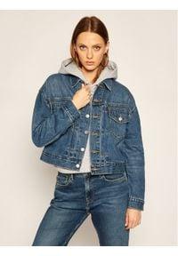 Levi's® Kurtka jeansowa New Heritage 36757-0000 Granatowy Regular Fit. Kolor: niebieski. Materiał: jeans