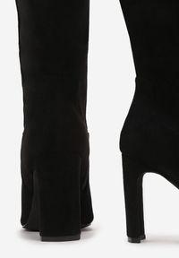 Renee - Czarne Kozaki Sprinkles. Kolor: czarny