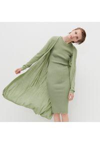 Zielony sweter Reserved długi