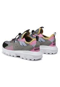 CATerpillar - Sneakersy CATERPILLAR - Raider S O CK164123 Pink. Okazja: na co dzień. Kolor: szary. Materiał: skóra, skóra ekologiczna, materiał. Szerokość cholewki: normalna. Styl: casual
