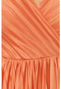 Różowa sukienka only casualowa, na co dzień, na ramiączkach