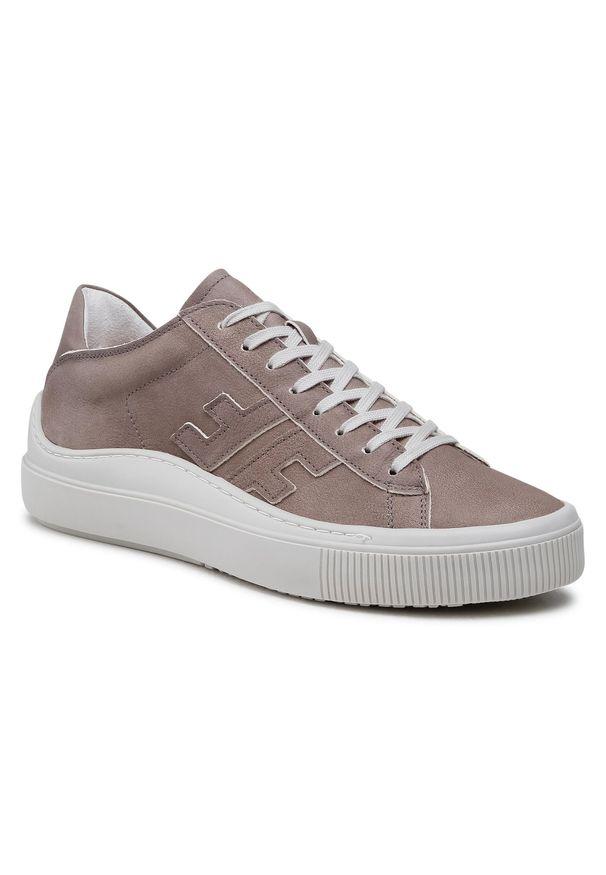 Fly London - Sneakersy FLY LONDON - Somafly P601455002 Lt.Grey. Okazja: na co dzień. Kolor: szary. Materiał: nubuk. Szerokość cholewki: normalna. Styl: sportowy, casual