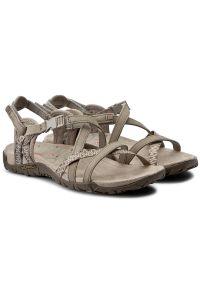 Beżowe sandały Merrell casualowe, na co dzień