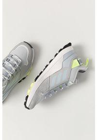 adidas Performance - Buty Terrex Hikster. Nosek buta: okrągły. Zapięcie: sznurówki. Kolor: szary. Materiał: guma