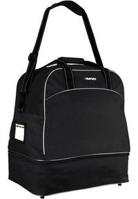 Avento Torba sportowa Football Bag 56L czarna. Kolor: czarny. Sport: piłka nożna