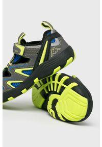 Kappa - Sandały dziecięce Reminder. Nosek buta: okrągły. Zapięcie: rzepy. Kolor: szary. Materiał: syntetyk, guma, materiał #2