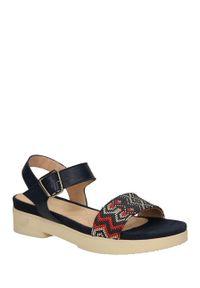 Niebieskie sandały Hispanitas na lato