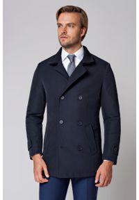 Niebieska kurtka Lancerto elegancka, na zimę