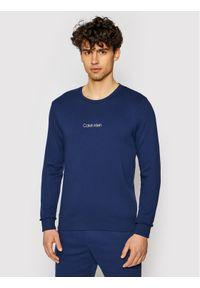 Calvin Klein Underwear Bluza 000NM2165E Granatowy Regular Fit. Kolor: niebieski