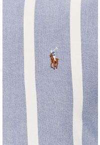 Niebieska koszula Polo Ralph Lauren polo, z długim rękawem