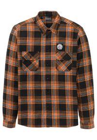 Pomarańczowa koszula bonprix z długim rękawem, długa