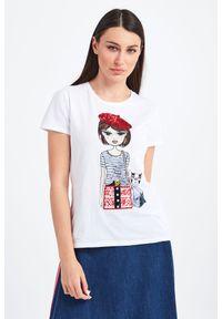 T-shirt Liu Jo casualowy, na co dzień