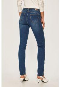 Niebieskie jeansy Morgan z aplikacjami