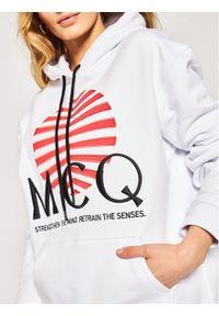 Biała bluza MCQ Alexander McQueen