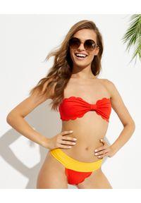 MARYSIA SWIM - Czerwony top od bikini Antibes Poppy. Kolor: czerwony. Materiał: tkanina