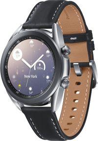 SAMSUNG - Smartwatch Samsung Galaxy Watch 3 Mystic Silver 41mm LTE Czarny (SM-R855FZSAEUE). Rodzaj zegarka: smartwatch. Kolor: czarny