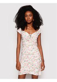 Guess Sukienka letnia W1GK0F KALQ0 Kolorowy Slim Fit. Wzór: kolorowy. Sezon: lato