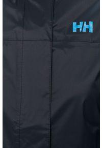 Niebieska kurtka Helly Hansen casualowa, na co dzień, z nadrukiem #6