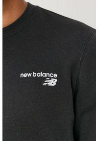 New Balance - Bluza. Okazja: na co dzień. Kolor: czarny. Styl: casual