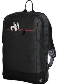 Czarny plecak na laptopa hama