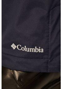 columbia - Columbia - Spodnie snowboardowe. Kolor: niebieski. Sport: snowboard