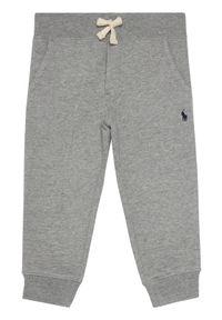 Polo Ralph Lauren Spodnie dresowe Bsr 321720897004 Szary Regular Fit. Kolor: szary. Materiał: dresówka