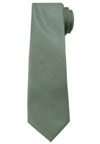 Zielony krawat Angelo di Monti elegancki