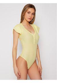 Żółta bluzka body Guess