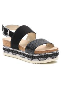 Czarne sandały Bullboxer