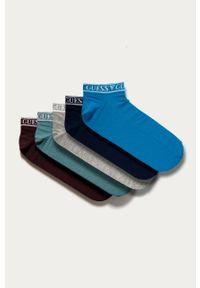 Wielokolorowe skarpetki Guess Jeans z nadrukiem