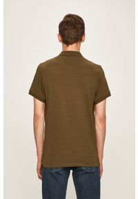 Zielona koszulka polo Pepe Jeans krótka, na co dzień, polo, casualowa