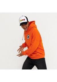 House - Bluza z kapturem Dragon Ball Z - Pomarańczowy. Typ kołnierza: kaptur. Kolor: pomarańczowy