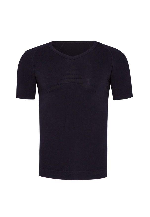 Czarna koszulka termoaktywna X-Bionic na wiosnę