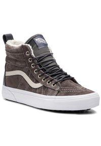 Szare sneakersy Vans