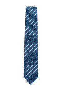 Niebieski krawat BOSS