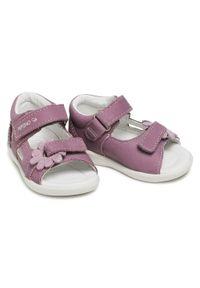 Fioletowe sandały