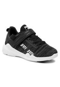 Bartek - Sneakersy BARTEK - 18208002 Czarny. Okazja: na spacer. Zapięcie: rzepy. Kolor: czarny. Materiał: skóra ekologiczna, materiał. Szerokość cholewki: normalna