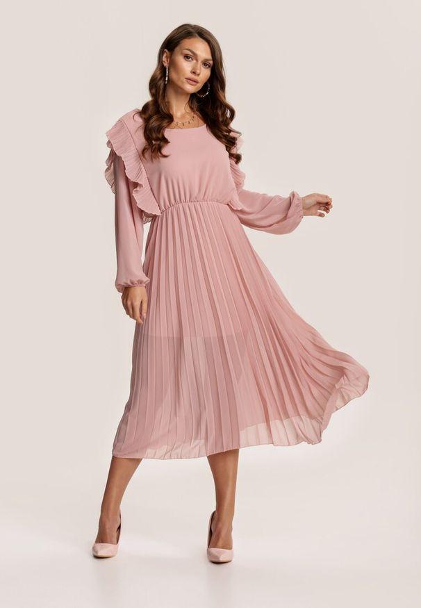 Różowa sukienka Renee