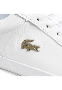 Lacoste Sneakersy Lerond 0721 1 Cma 7-41CMA001521G Biały. Kolor: biały
