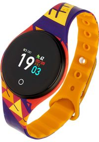 Pomarańczowy zegarek Garett Electronics smartwatch