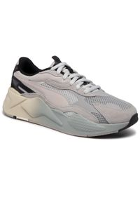 Szare buty sportowe Puma z cholewką, na co dzień, do biegania