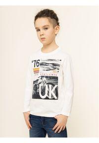 Biały t-shirt Primigi vintage