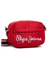 Czerwona torebka Pepe Jeans