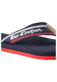 Lee Cooper - Japonki LEE COOPER LCWL-20-33-011 Navy/Red. Okazja: na co dzień, na plażę. Materiał: skóra ekologiczna, materiał. Wzór: aplikacja. Styl: wakacyjny, casual #6