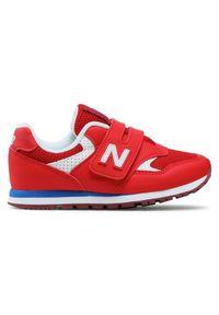 New Balance Sneakersy YV393BBP Czerwony. Kolor: czerwony