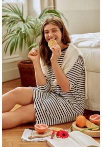 Greenpoint - Dzianinowa sukienka o luźnym fasonie. Materiał: dzianina