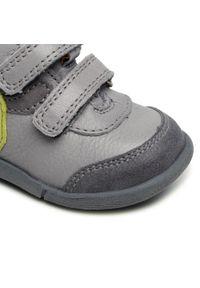 Froddo - Trzewiki FRODDO - G2130233-2 Light Grey. Kolor: szary. Materiał: skóra, zamsz. Szerokość cholewki: normalna. Wzór: aplikacja. Sezon: zima